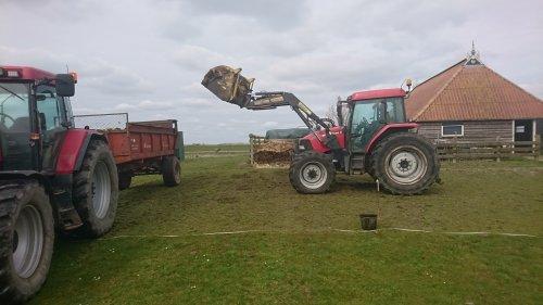 Foto van een Case MX 100 C. Geplaatst door sybren op 19-03-2020 om 14:31:17, op TractorFan.nl - de nummer 1 tractor foto website.