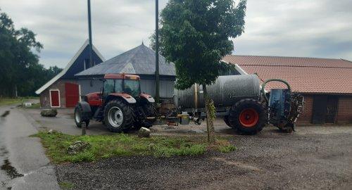 Foto van een Case MX 120.. Geplaatst door Loonwerker uut twente 2 op 25-08-2020 om 17:31:41, op TractorFan.nl - de nummer 1 tractor foto website.
