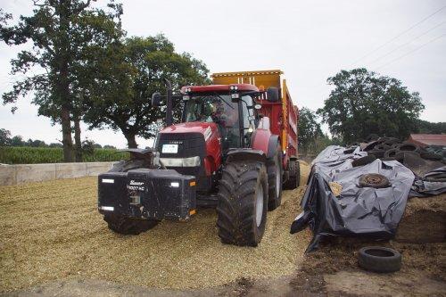 Foto van een Case CVX 230. Geplaatst door jans-eising op 20-11-2020 om 19:39:47, op TractorFan.nl - de nummer 1 tractor foto website.
