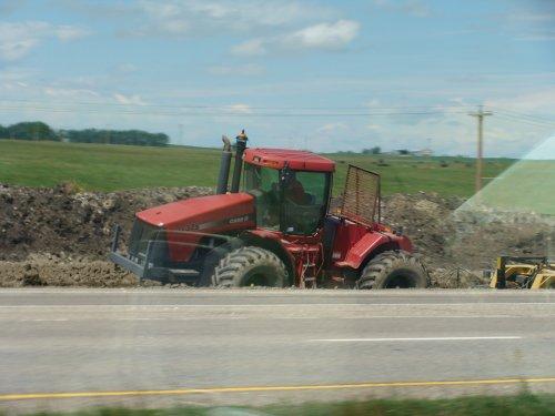 Foto van een Case IH Steiger STX 375,was in Canada met de weg bezig. Geplaatst door claasenfendtfan op 01-08-2008 om 08:53:49, met 4 reacties.