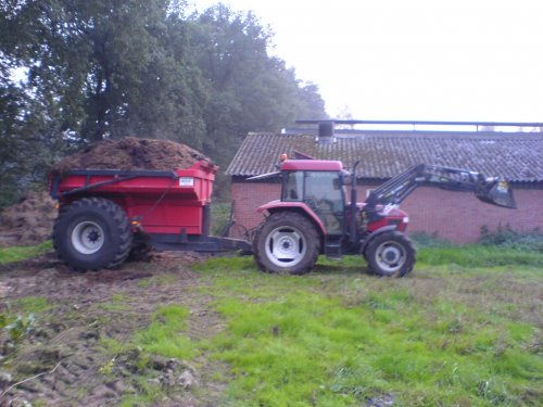 Case IH CX 70 van FENDTfarmer