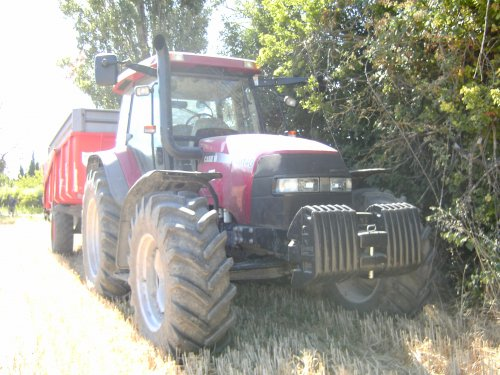 Case IH Maxxum MXM 140 van de mf fan