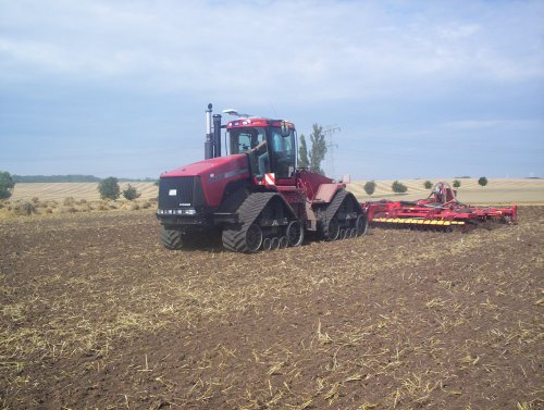 Case IH Quadtrac STX 480 van Grabs