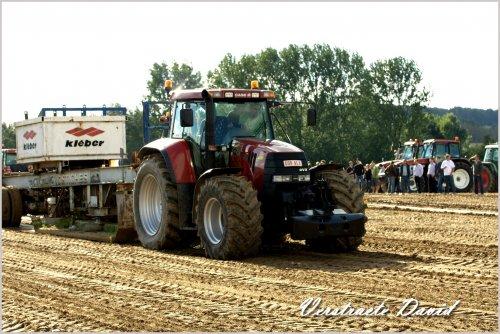 Foto van een Case CVX 1170, bezig met trekkertrekken.. Geplaatst door Same Minitauro 60 op 14-09-2010 om 18:18:54, op TractorFan.nl - de nummer 1 tractor foto website.