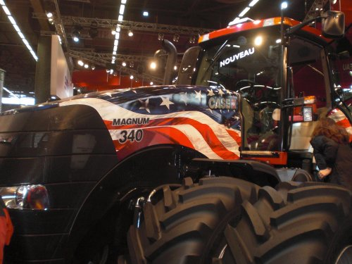 Case IH Magnum 340 Stars and Stripes van Tim Schenk