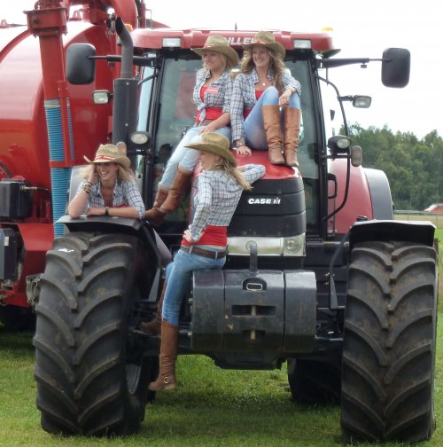 Case IH Lady van ronaldclaas
