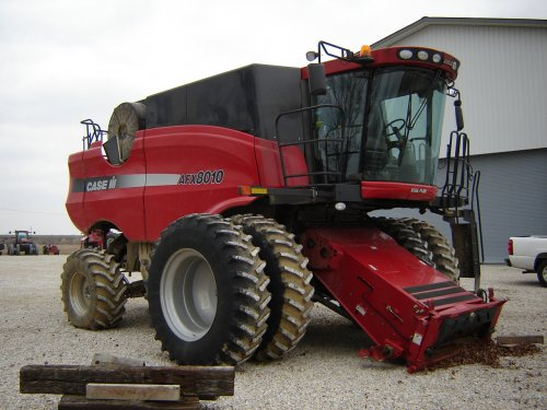 Case IH Axial Flow 8010 van Teun81