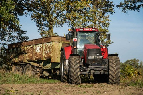 Case IH CVX 170 van deutz dx 470