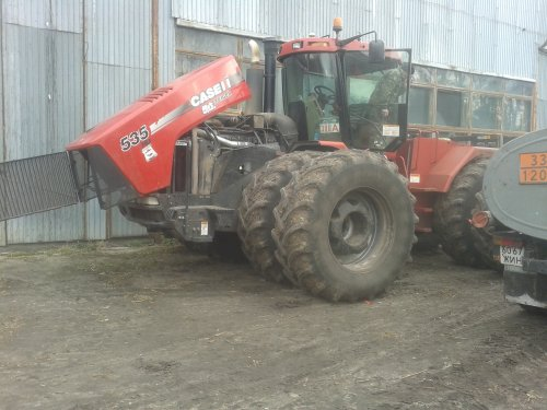 Case IH Steiger 535 van Puma cvx power