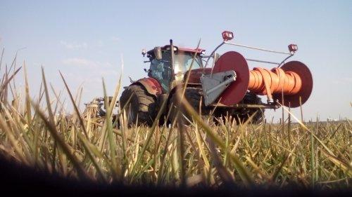 *PRIMEUR*Case 165 CVX 16-3-2016 gespot door.......  dikke trekker Demo??. Geplaatst door dikketrekker op 16-03-2016 om 20:07:05, op TractorFan.nl - de nummer 1 tractor foto website.