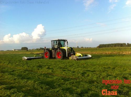Claas Xerion 3800 TRAC van Claas Holland