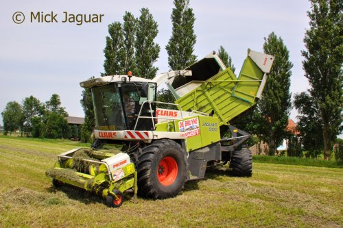 Claas Jaguar Field Shuttle van Mick Jaguar