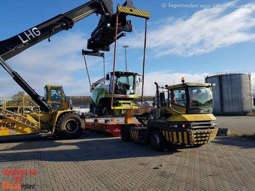 Claas Jaguar van Claas Holland