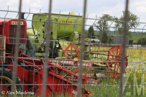 Hier zie je Schwäbisches Bauern und Technikmuseum Seifertshofen (Museum Kiemele) (Eschach) × met een Claas onbekend/overig. Mijn laatste Kiemele foto (voor nu)