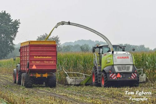 Claas Jaguar 960 van tom-case