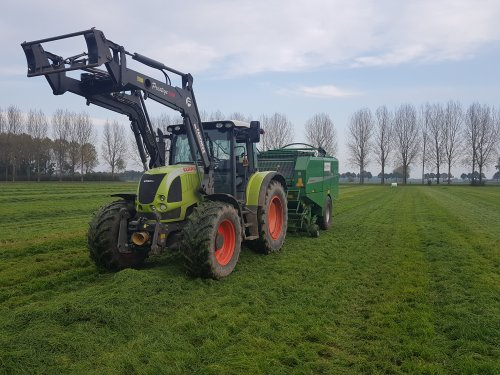 Picture Claas Ares 567 ATZ