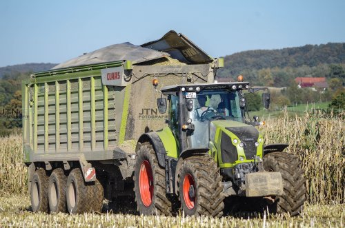Claas Axion 870 van fendtvario
