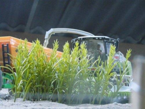 Claas Jaguar van John deere 6100rc