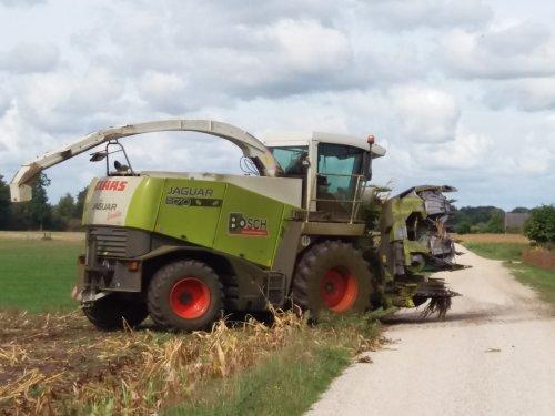 Foto van een Claas Jaguar 870 Speedstar. Geplaatst door jordi 1455 op 13-09-2018 om 23:30:27, op TractorFan.nl - de nummer 1 tractor foto website.