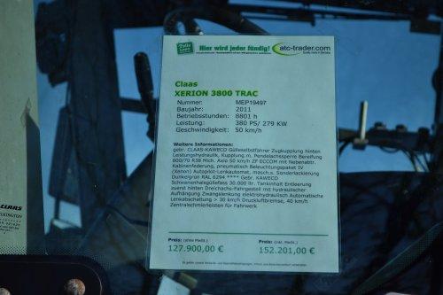 Claas Xerion 3800 TRAC van Lucas Ensing