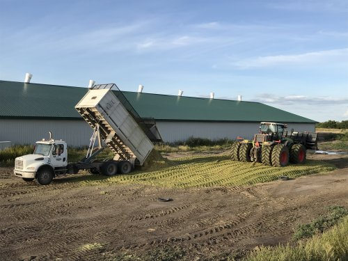 Foto van een Claas Xerion 5000 op demo. Geplaatst door catfan55 op 13-08-2019 om 13:04:58, op TractorFan.nl - de nummer 1 tractor foto website.