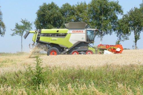 Claas Lexion 8700. Geplaatst door allis man op 23-08-2020 om 12:00:57, op TractorFan.nl - de nummer 1 tractor foto website.
