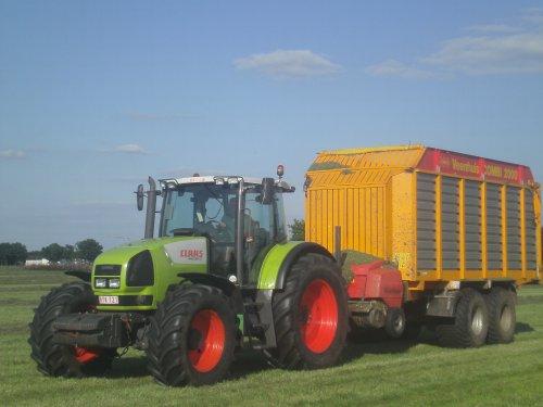 Claas Ares 816 RZ van tractorquintentje