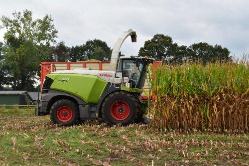 Foto van een Claas Jaguar 940. Geplaatst door jordi 1455 op 13-10-2021 om 19:09:40, op TractorFan.nl - de nummer 1 tractor foto website.