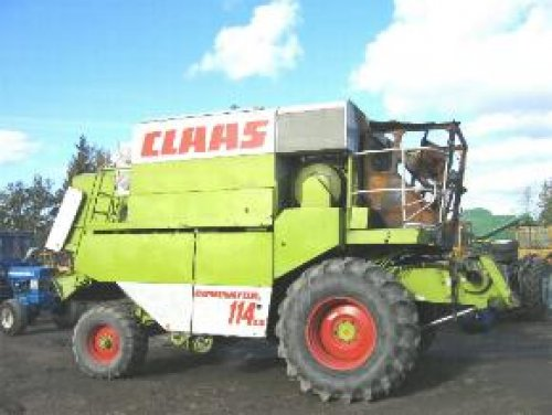 Claas Dominator 114 CS van InternationalTHEBEST