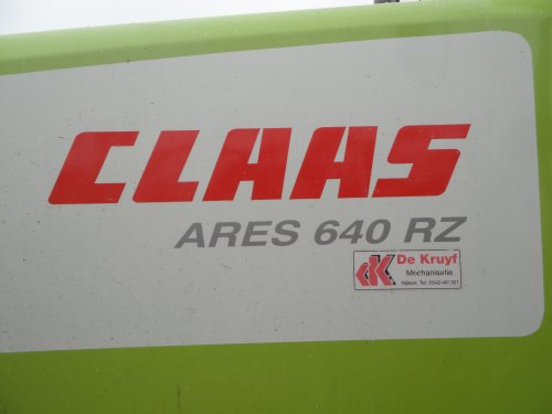 Picture Claas Ares 640 RZ