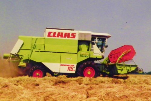 Picture Claas Dominator 114 CS