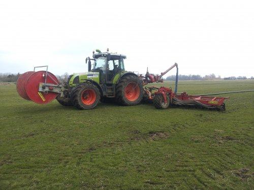 Foto van een Claas Ares 697 ATZ.. Geplaatst door erik mtx op 24-03-2013 om 18:50:57, op TractorFan.nl - de nummer 1 tractor foto website.