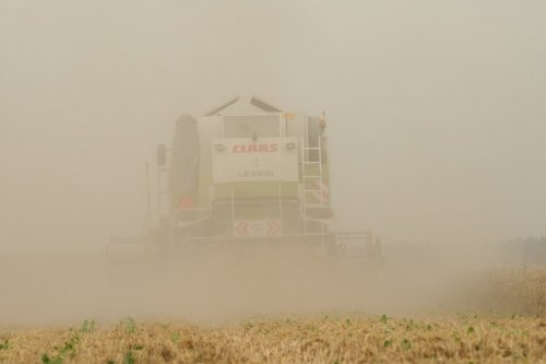 Claas Lexion 420 Wallpaper