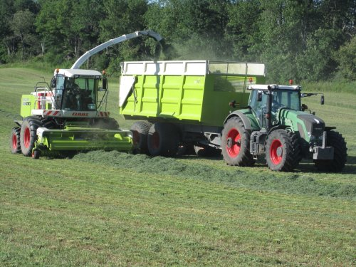 Picture Claas Jaguar 850 Green Eye