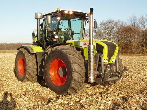 Claas Xerion van hobby-farmer