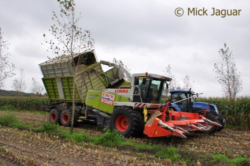 Claas Jaguar Field Shuttle van Mick Jaguar