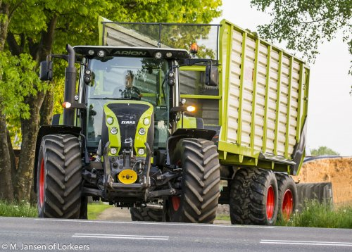 Claas Arion 640 van -Mike-