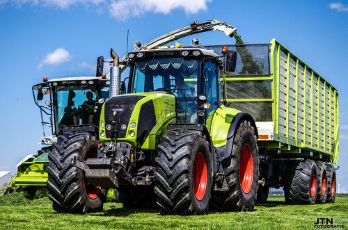 Claas Axion 820 van fendtvario