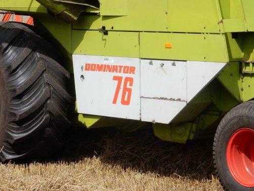 Claas Dominator 76 van jans-eising