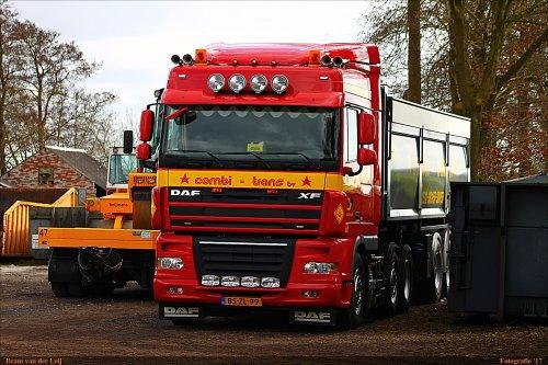 DAF XF105 van Bram van der Leij