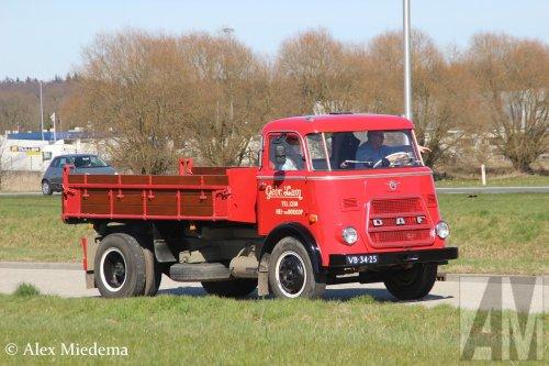 DAF A1600 van Alex Miedema