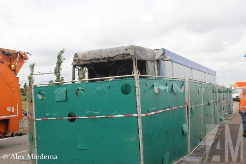 Foto van een DAF XF Euro 6, opgebouwd voor bulktransport.. Geplaatst door Alex Miedema op 12-06-2017 om 21:45:09, op TractorFan.nl - de nummer 1 tractor foto website.