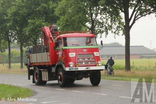 DAF V1600 van Alex Miedema
