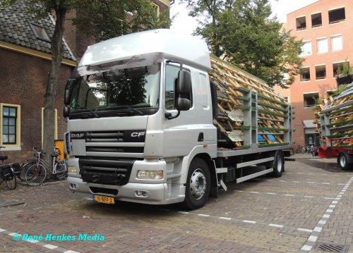 Foto van een DAF CF serie, opgebouwd als open laadbak.. Geplaatst door René op 04-09-2018 om 23:21:04, op TractorFan.nl - de nummer 1 tractor foto website.