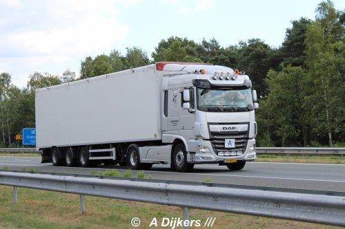 DAF XF Euro 6 van arjan-dijkers