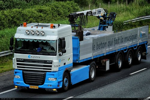 DAF XF van Bram van der Leij