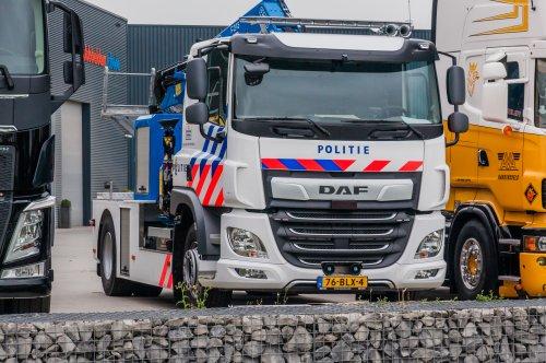 Foto van een DAF CF Euro 6, opgebouwd voor berging.. Geplaatst door xrayjaco op 29-07-2019 om 15:35:46, op TractorFan.nl - de nummer 1 tractor foto website.