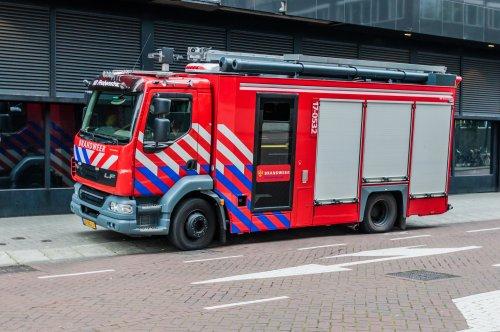 Foto van een DAF LF55, opgebouwd als brandweer.. Geplaatst door xrayjaco op 31-07-2019 om 09:22:47, op TractorFan.nl - de nummer 1 tractor foto website.