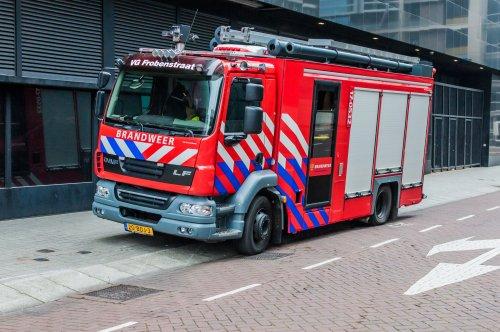 Foto van een DAF LF55, opgebouwd als brandweer.. Geplaatst door xrayjaco op 31-07-2019 om 09:22:51, op TractorFan.nl - de nummer 1 tractor foto website.