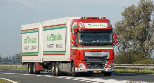 Foto van een DAF XF Euro 6, opgebouwd voor koeltransport.. Geplaatst door pierius-van-solkema op 07-04-2020 om 21:19:40, op TractorFan.nl - de nummer 1 tractor foto website.